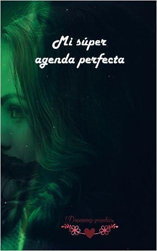 Mi súper agenda perfecta: interior blanco y negro (Spanish ...