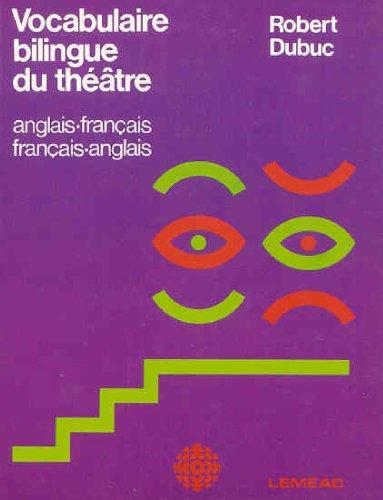 Vocabulaire Bilingue Du The A Tre  Anglais Franc Ais  Franc Ais Anglais  French Edition