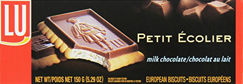 Mondolez Lu Petit Ecolier Milk Choc, 5.29 oz