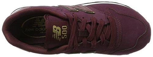Nieuw Evenwicht Gw500 Damen Sneaker Rot (bordeaux)