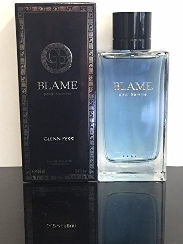 BLAME POUR HOMME BY GLENN PERRI COLOGNE FOR MEN 3.4 OZ 100 ML EAU DE TOILETTE SPRAY