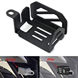 Motoparty CRF1000L Rear Brake Reservoir Guard Protector Cover For Honda CRF1000L Africa Twin DCT 2014-2017 CRF1000 CRF 1000 L Rear Brake Oil Fluid Guard Cover