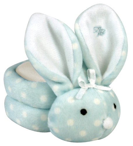 - Stephan Baby Boo Bunnie Comfort Toy and Boo Cube, Baby Boy Polka Dot