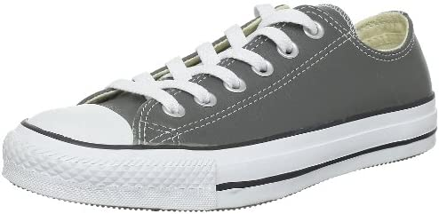 converse womens chuck taylor white ox lo shoe new leather 136823c uk 3.5 to 7