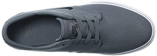 Nike Mens Sb Clutch Skateboard Schoenen Donker Grijs / Zwart / Wit / Gum Lichtbruin