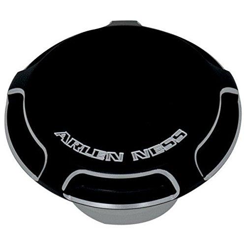 Arlen Ness 70-300 Black Billet Gas Cap/LED Fuel Gauge Cap