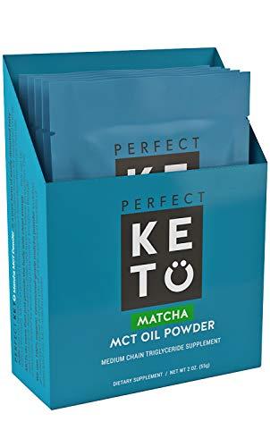 Perfect Keto Matcha Green Tea Powder (5 Individual Sampler Pack)