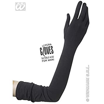 e05e5c853a875 Lively Moments Schwarze Handschuhe extra lang