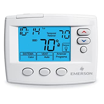 white rodgers 1f80st 0471 spanish 5 1 1 or 5 2 day programmable rh amazon com White Rodgers Thermostat Manuals White Rodgers Logo