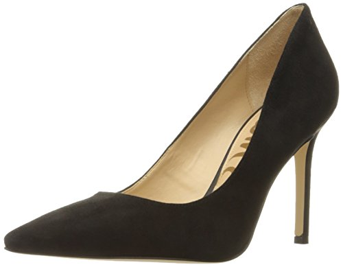 Sam Edelman Women's Hazel Dress Pump, Black Suede, 7 M US by Sam Edelman