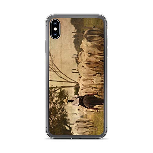 Child Dub Dub Frame (iPhone Xs Max Case Anti-Scratch Creature Animal Transparent Cases Cover Working Girl Animals Fauna Crystal Clear)