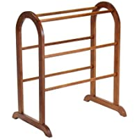 Wood Quilt Rack Walnut
