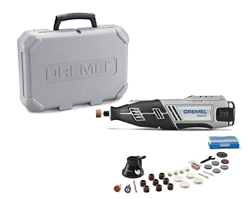 Dremel 8220-1/28 12-Volt Max Cordless Rotary Tool Kit- Engraver, Sander, and Polisher- Perfect for Cutting, Wood Carving…
