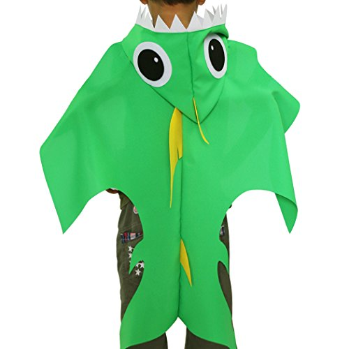 Shark Hooded Costume for Kids-Boys Pretend Play Cape Dress up Party Favors