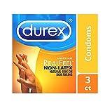 Condoms, Non-Latex, Durex Real Feel Avanti Bare Polyisoprene, 24 Count HSA Eligible