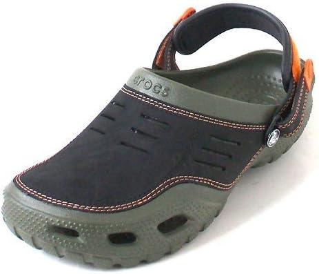Crocs Men's Yukon Sport Clog,Army Green