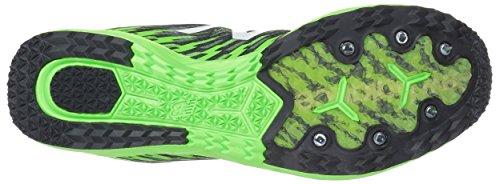 New Balance MXCS700v5 Cross Country Laufschuhe - SS18 Thunder/Energy Lime