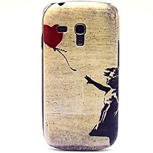 QHY Flying The Red Ball Pattern Hard Plastic Case for Samsung Galaxy S3 mini I8190