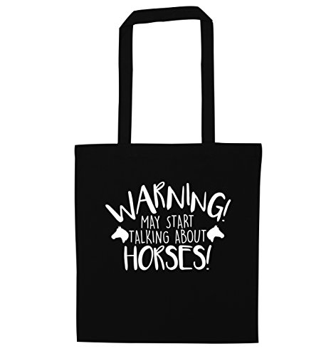horse may Warning Black tote bag talking my about start 7X1qn1T4