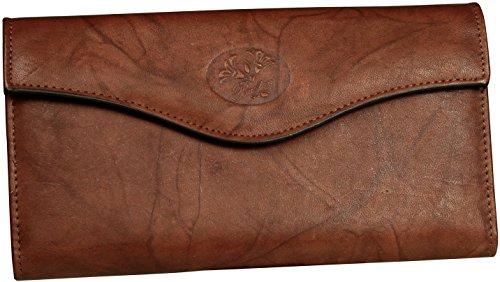 Buxton RFID Organizer Clutch Wallet One Size Mahogany (Mahogany Womens Wallet)