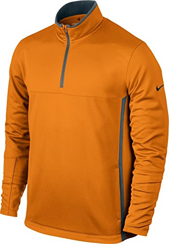 NIKE Men's Therma-FIT Cover-Up Jacket, Bright Ceramic/Flint Grey/Anthracite, X-Large