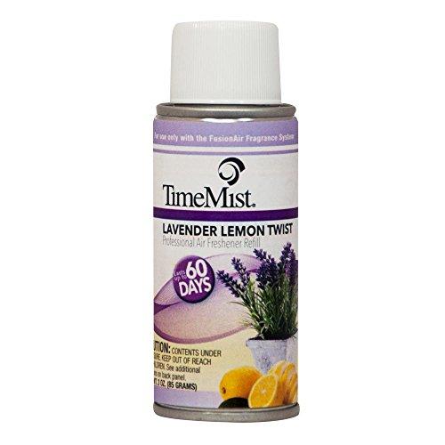 TimeMist 3 oz. Lavender Lemon Twist Automatic Air Freshener Spray Refill (2-Pack) (Case of 6)