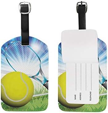 Etiquetas de Etiqueta para Equipaje de Pelota de Tenis, con Nombre ...