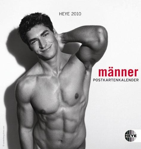 Männer 2010. Postkartenkalender