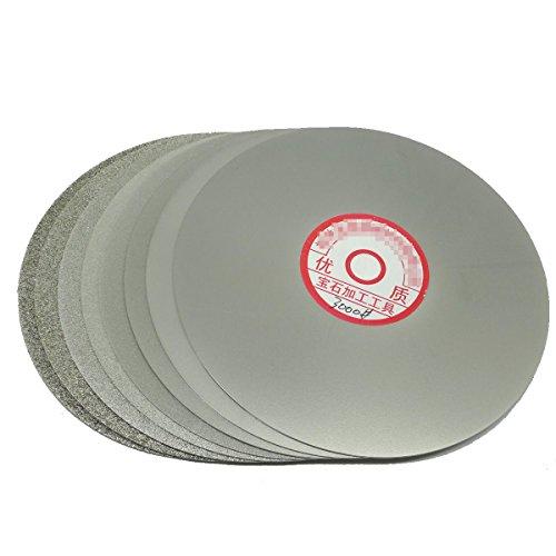 "UPC 708191940692, Grit 1500 Diamond Coated 6"" Inch Flat Lap Wheel Lapidary Lapping Polishing Disc"