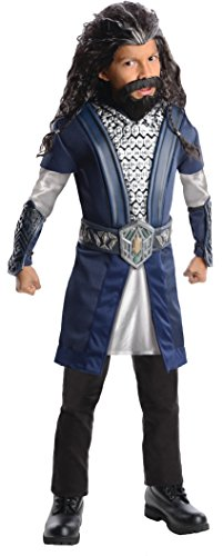 The Hobbit, Deluxe Thorin Oakenshield Costume - Large - Hobbit Costume Shirt