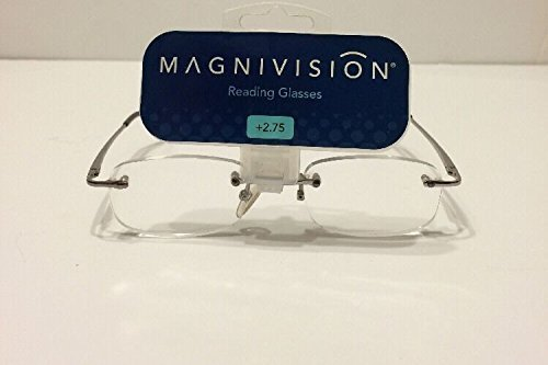 Magnivision Jamie +1.25 Rimless Reading Glasses by - Sun Magnivision Readers