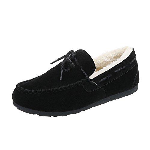 D Design Loafer Flat Black Moccasins Women's 25 Ital Flats 0qPfOqd