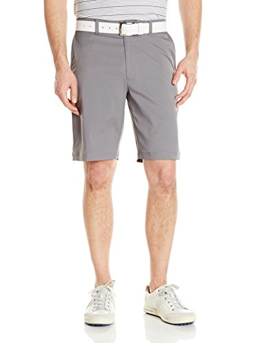 PGA TOUR Men's Motionflux 360 Stretch Flat Front Active Waistband Short, Quiet Shade, 38 by PGA TOUR
