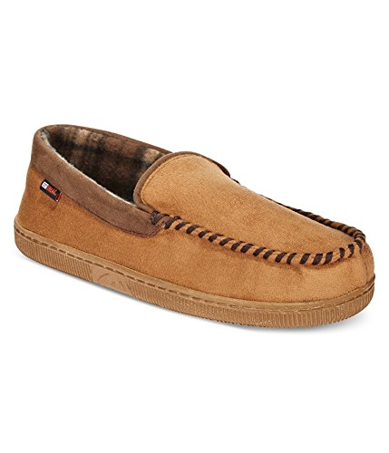 Værbestandige Menns Trimmet Tungen Moccasin Loafers Tan