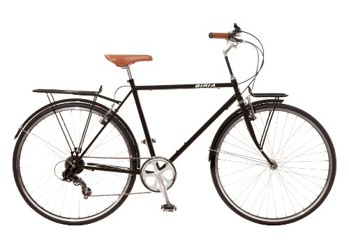 City Bike , Commuting bicycle 700C , Black , 8 speed Shimano altus , Men by Biria