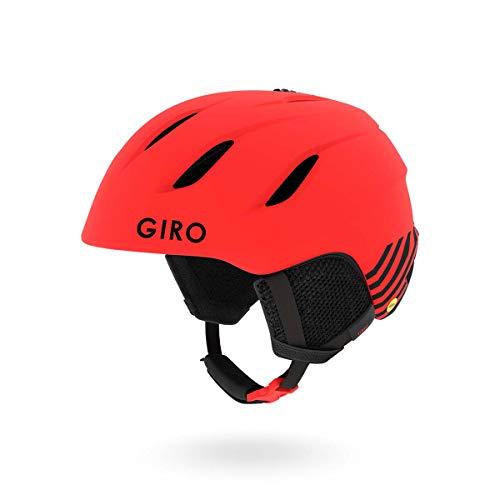 Giro Nine Jr. MIPS Kids Snow Helmet Matte Bright Red Zoom MD 55.5-59cm
