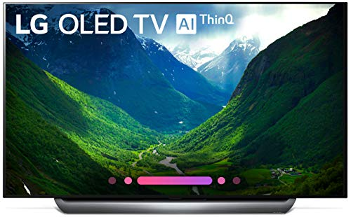 LG Electronics OLED65C8P 65-Inch 4K Ultra HD Smart OLED TV (2018 Model) ()