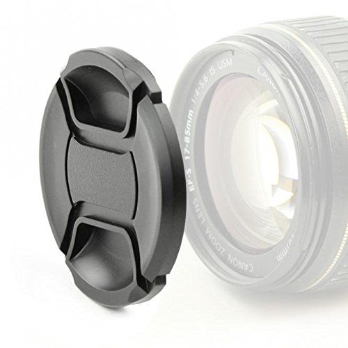 Capot de protection avant Snap-On: Pincement central Couvercle /Ø 40.5mm compatible avec Olympus Zuiko Digital ED 14‑42mm 3.5-5.6 Capuchon dobjectif