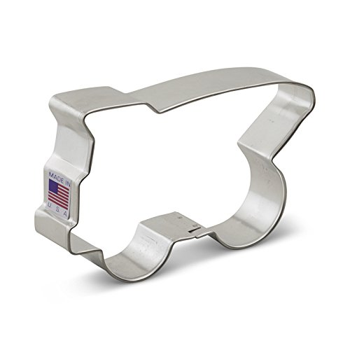 (Ann Clark Truck Dump Cookie Cutter - 4.75 Inches - Tin Plated)