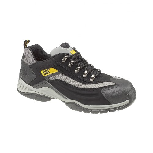 Caterpillar Moor Safety Trainer/Womens Trainers/Unisex Safety Shoes Black