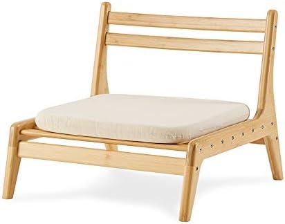 ZEN'S Bamboo Floor Seat Chair