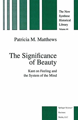 The Significance of Beauty: Kant on Feeling and the System of the Mind (The New Synthese Historical Library) -  P.M. Matthews, Hardcover