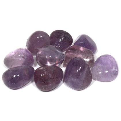 Amethyst Tumble Stone (20-25mm) - Single Stone