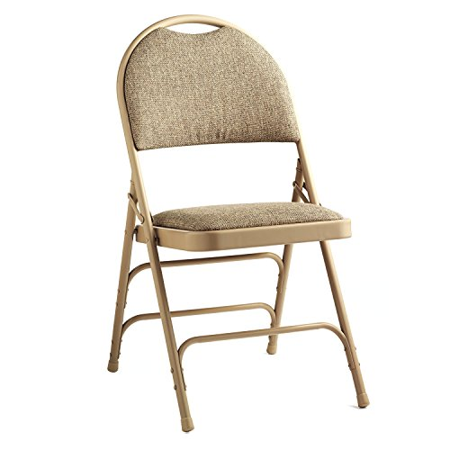 Samsonite Steel & Fabric Folding Chair with Memory Foam (Case/4) (Samsonite Fabric Chair)