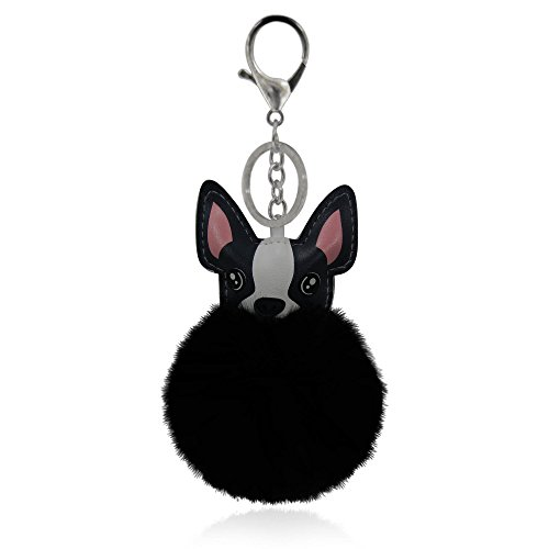 french bulldog key ring - 1
