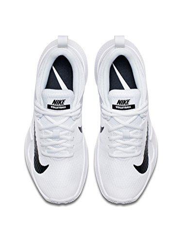 Nike Womens Wmns Air Zoom Hyperace, White / Black, 12 M US by NIKE (Image #3)