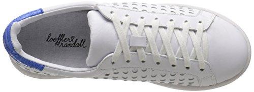 Loeffler Randall Femmes Zora Mode Sneaker Blanc / Pervenche