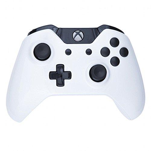 ModFreakz® Shell Kit Gloss White/Black For Xbox One Model 1537 Controllers