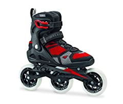 Macroblade 110 3WD is one of the fastest skates with superior lateral support. The higher boot design works well with the 3x110 set up to release one's inner racer. This skate is a great bridge product between the race and recreational skate ...