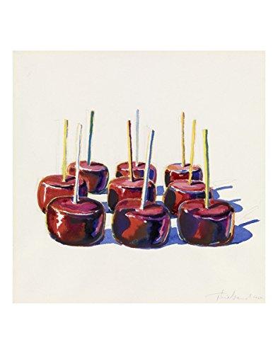 Thiebaud Poster (Nine Jelly Apples, 1964 by Wayne Thiebaud Painting Print)
